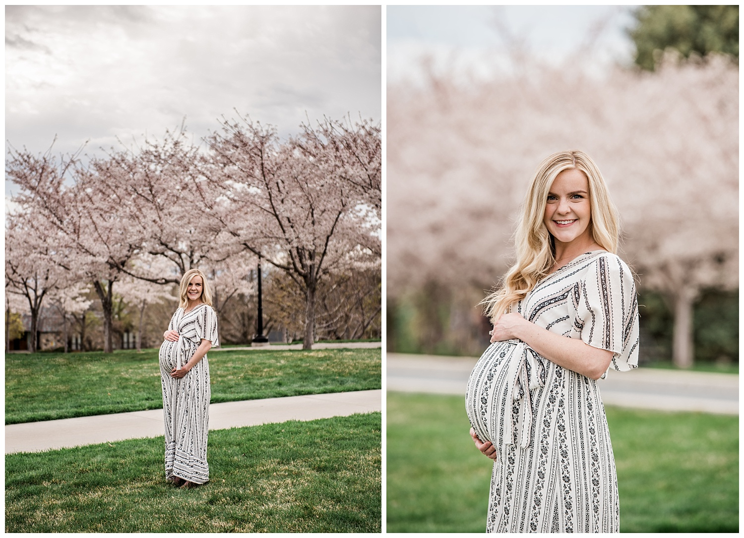 Dan Page Photography, Utah State Capitol Maternity Session, Spring Cherry Blossoms (6).jpg