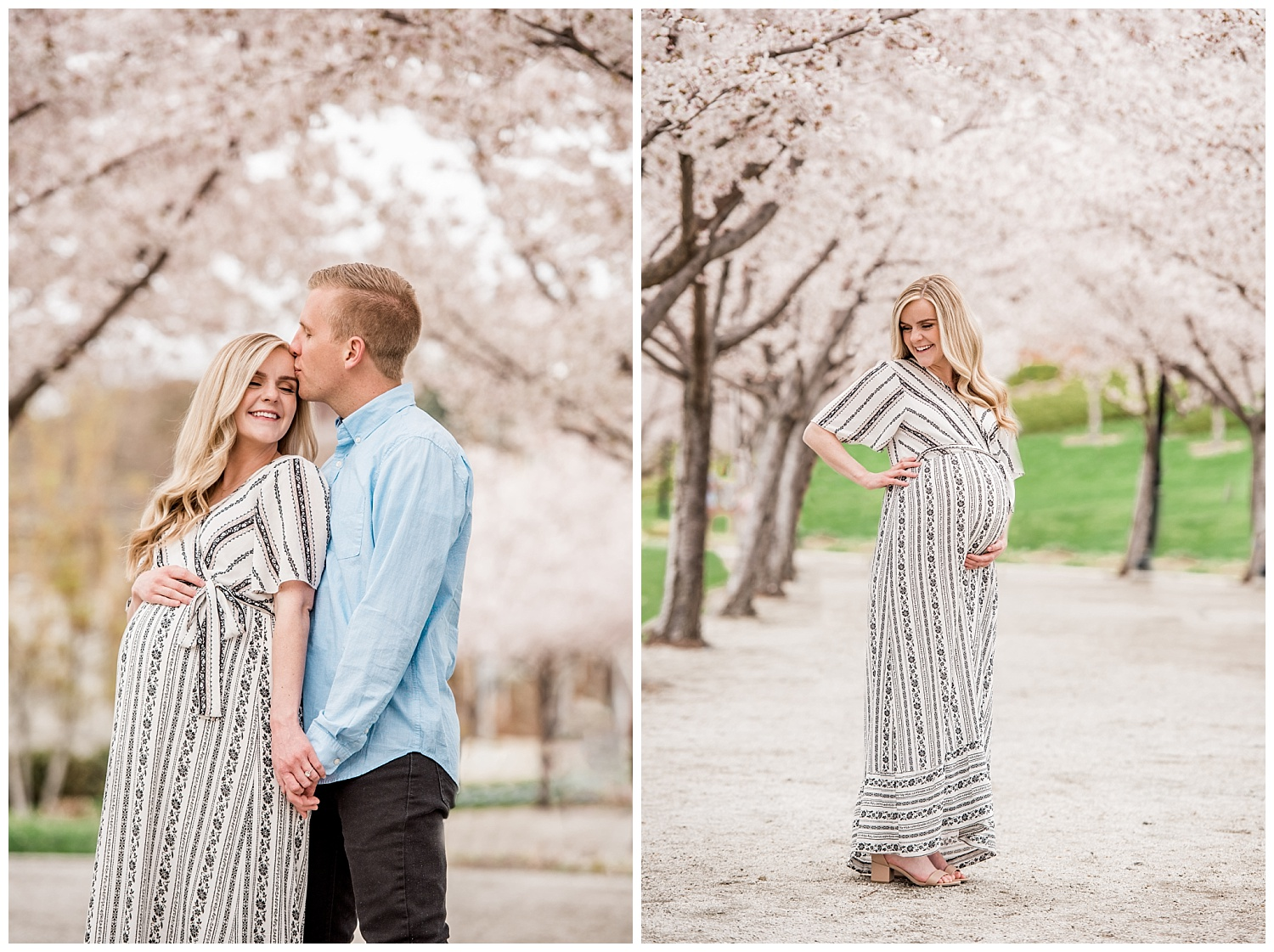Dan Page Photography, Utah State Capitol Maternity Session, Spring Cherry Blossoms (8).jpg