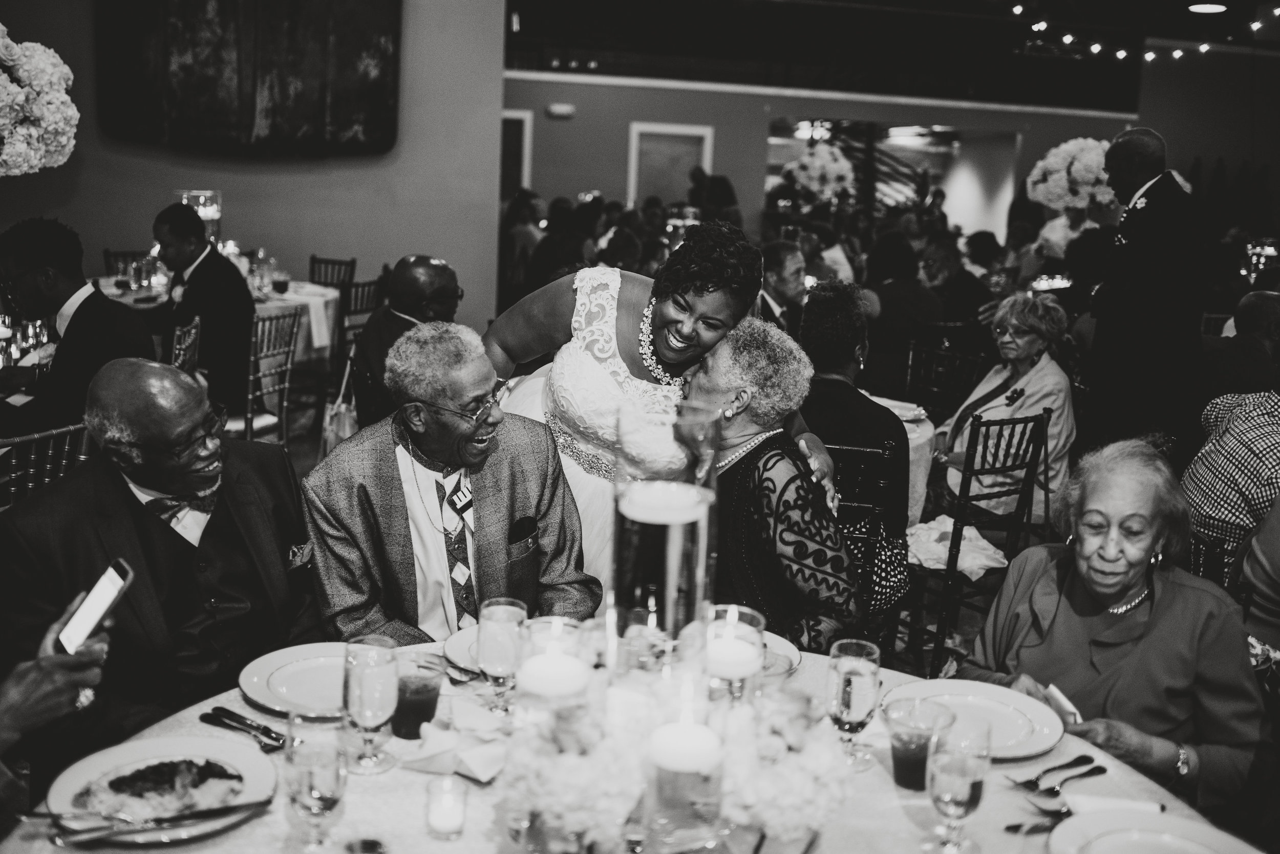 Happy guests at our wedding venue captured by Porshia Hernandez Photography