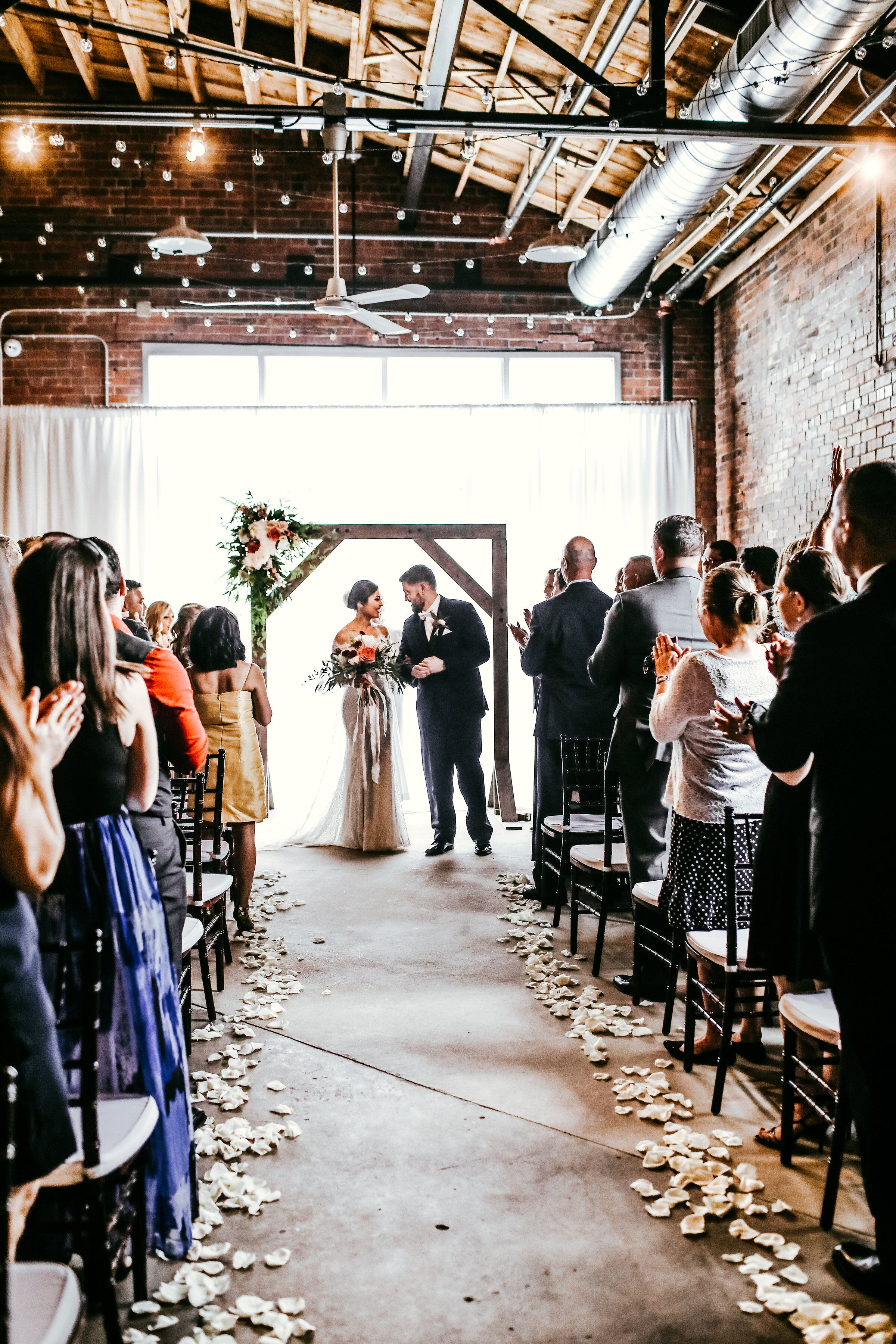 Ceremony in our Little Studio Captured by Lafferty Photo