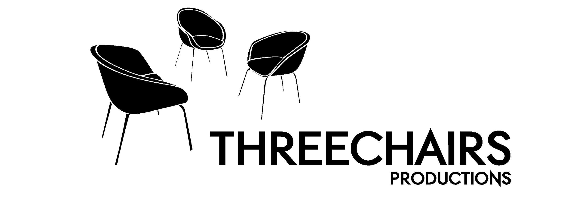 three chair Logo BW.png