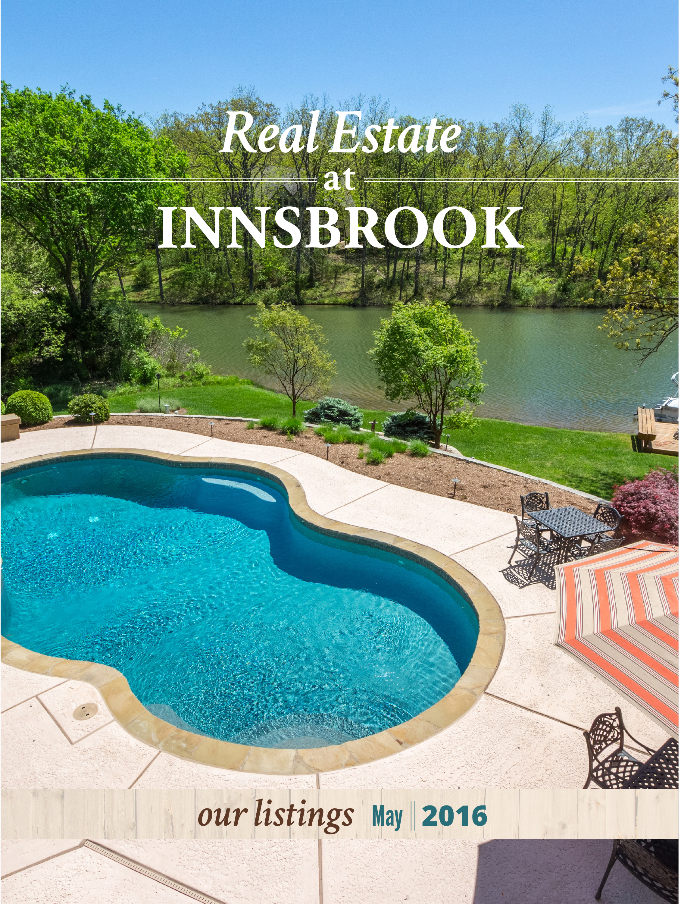 Monthly RealEstate Books - One of my major responsibilities was maintaining a monthly real estate book. This included photographing all of the newly added properties, writing the copy, laying out new pages and updating maps of the resort.