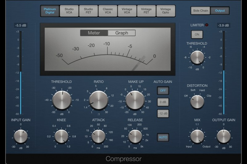 Apple Logic Pro X Compressor