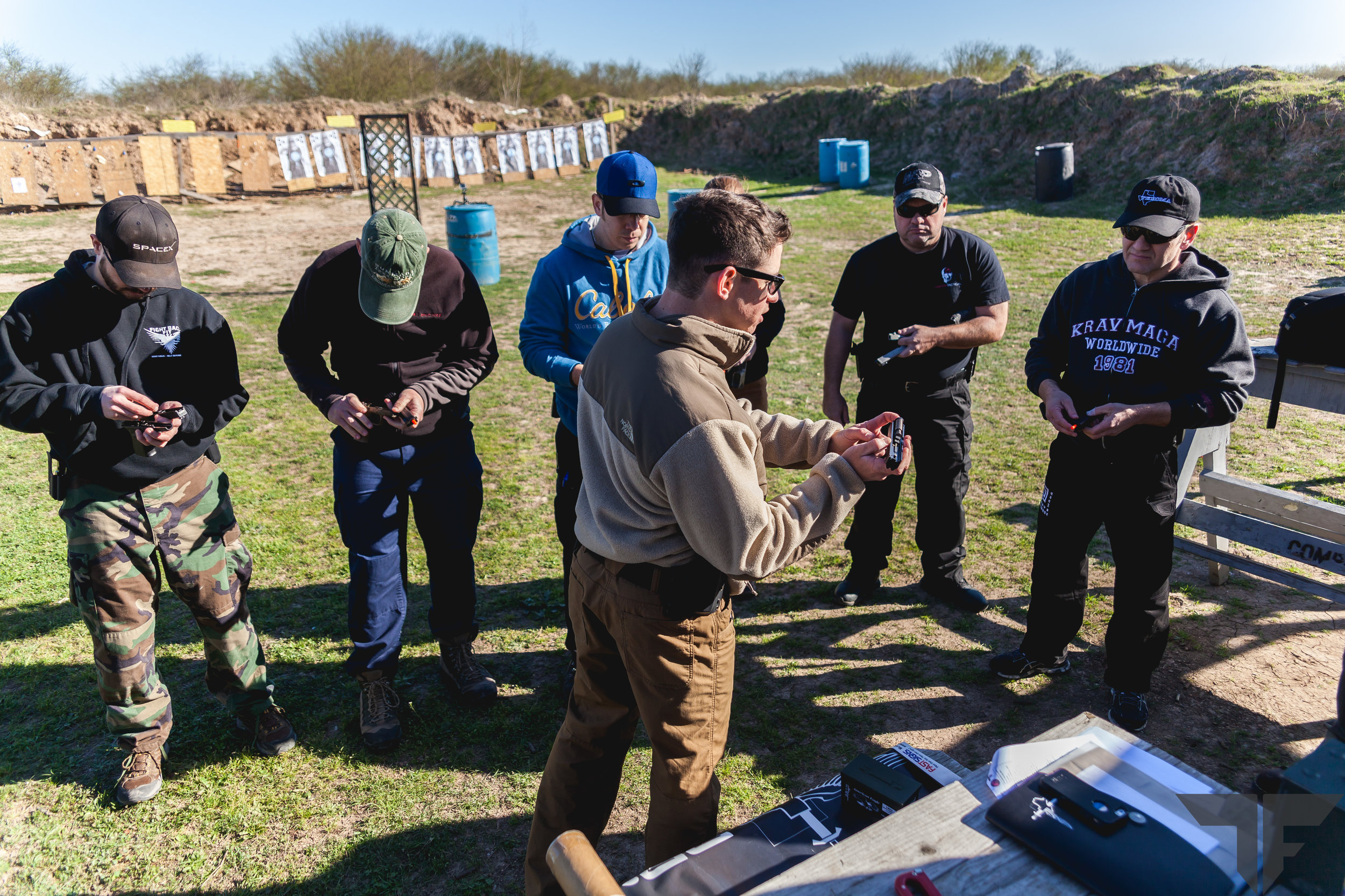 Not only learning how to fire the pistol but also how it operates mechanically.
