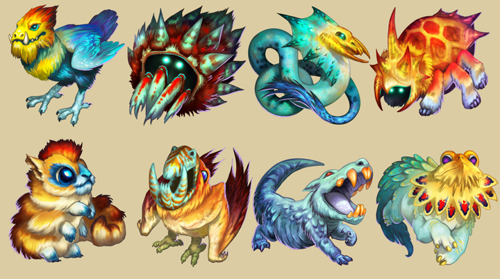 Fauna collection for Temple Run2