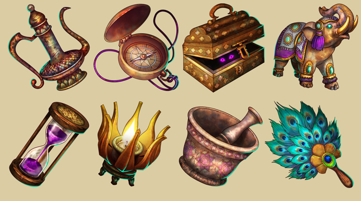 Totem collection for Temple Run2