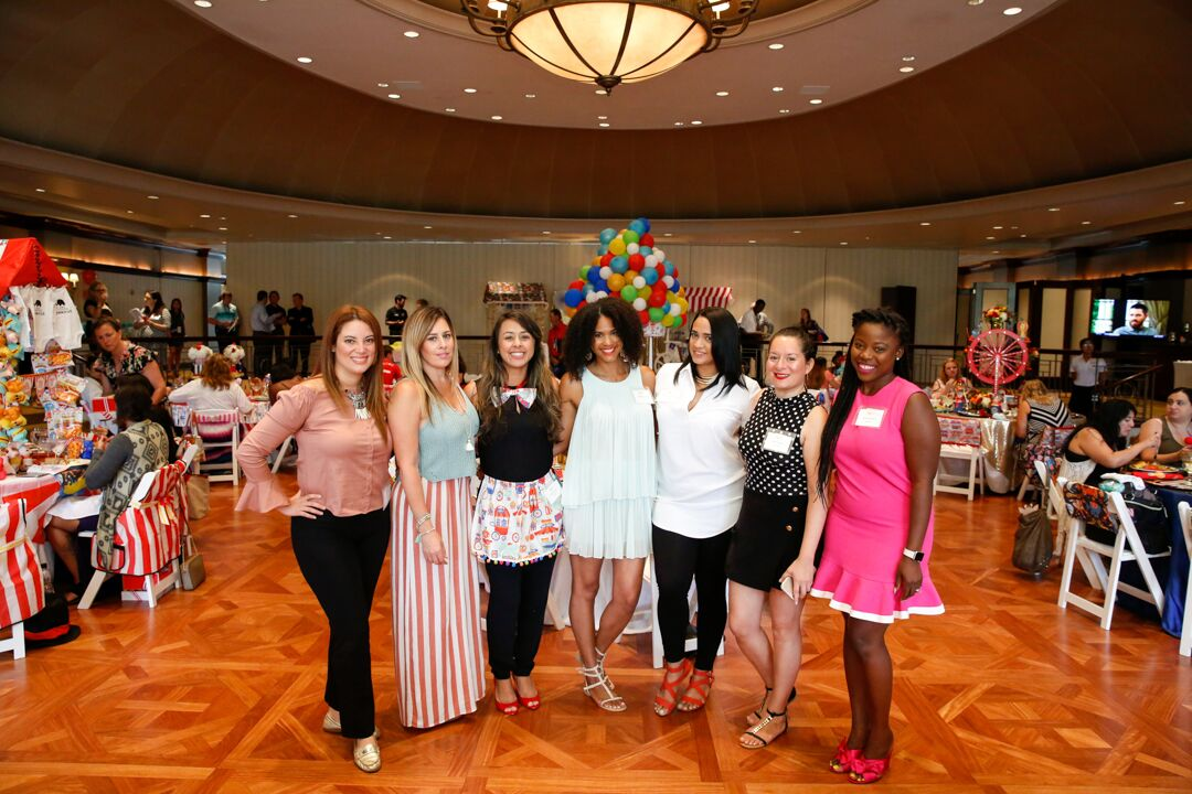 From Left: Happy Happenings Event, Save the Date for Cupcakes, Gabriela Events, Style In the Details, Simply Divine Event Decor, Bonito Design, M Pression Events, Amy & La Productions (who sadly missed this group photo). Photo by   Images by Berit