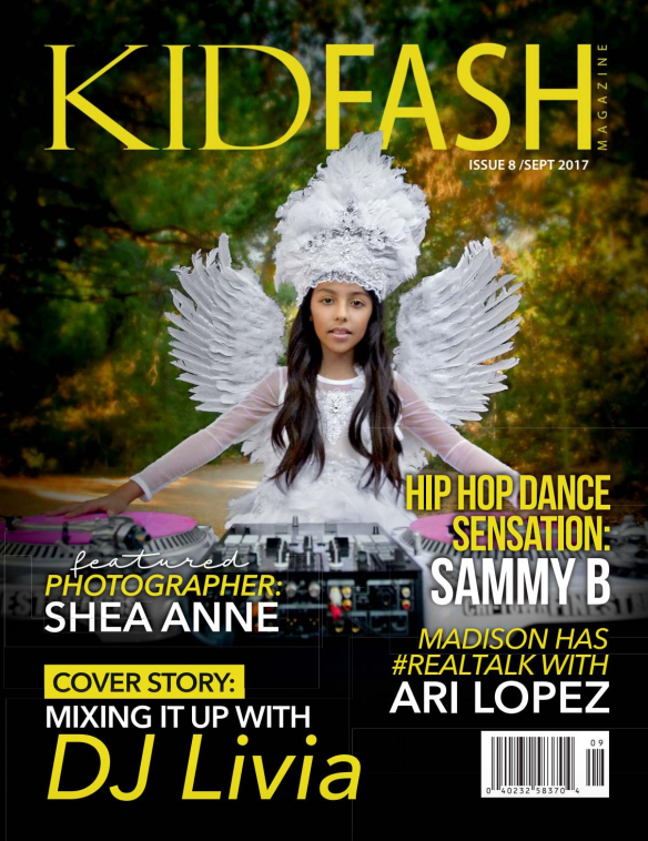 KID FASH MAGAZINE COVER