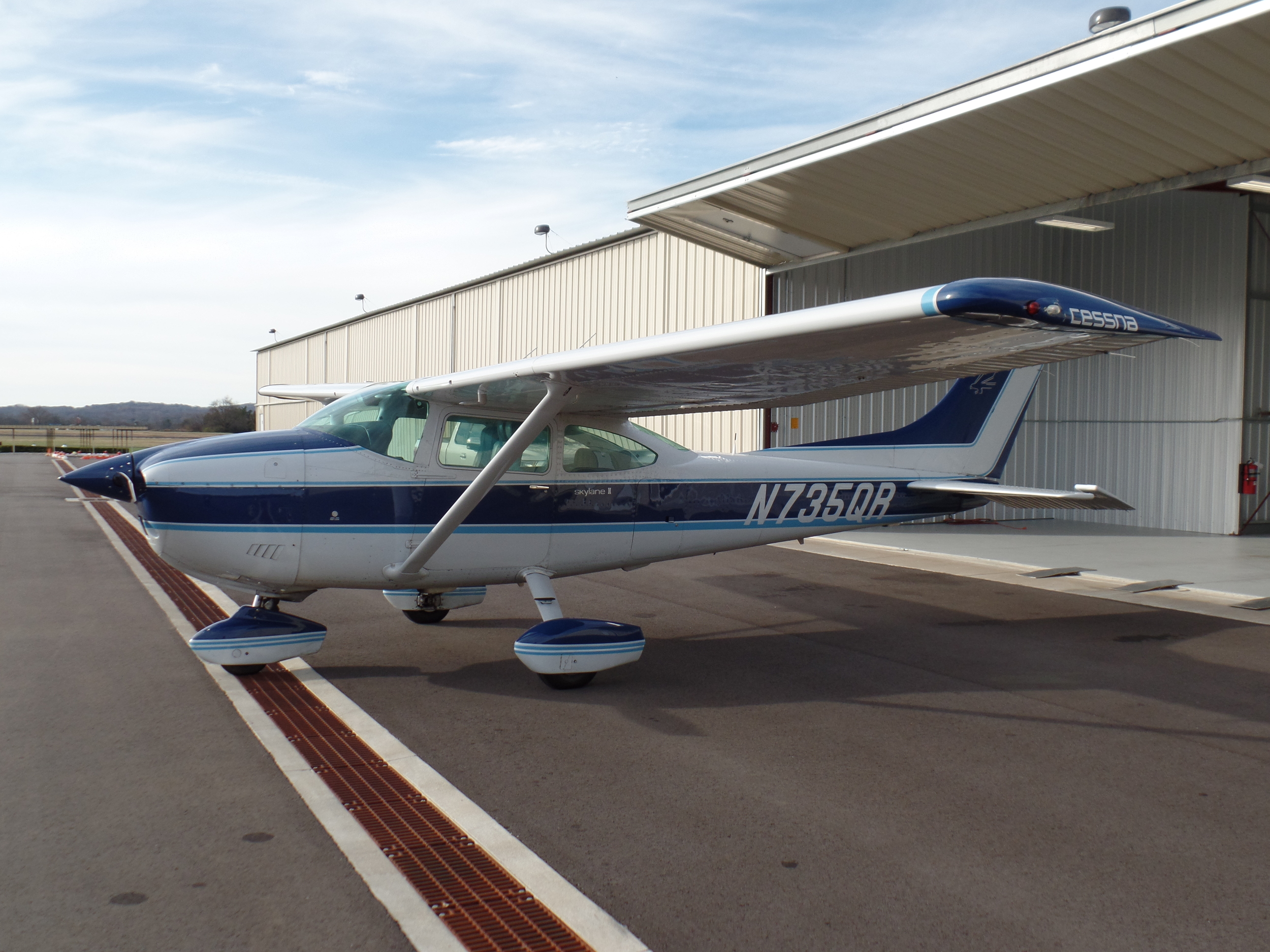 N735QR - Our well-maintained and capable Cessna 182Q