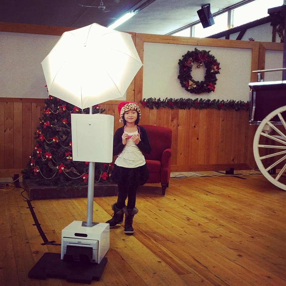 The cutest little helper you can get at the Ledcor Kids Christmas Party event!