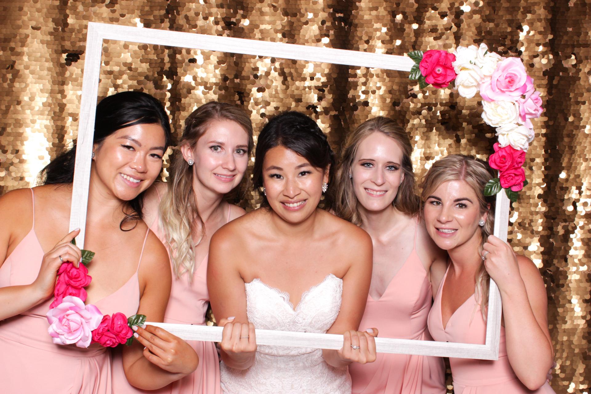 calgary bride and bridesmaids 2017