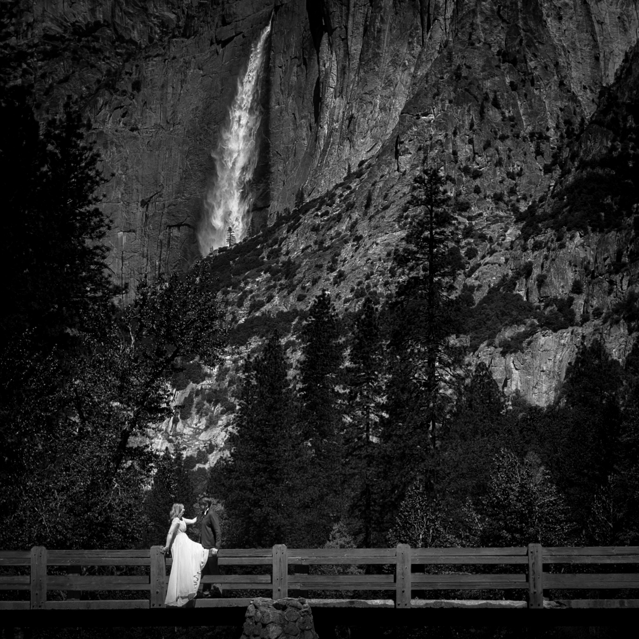 photo of adventure Yosemite elopement photography
