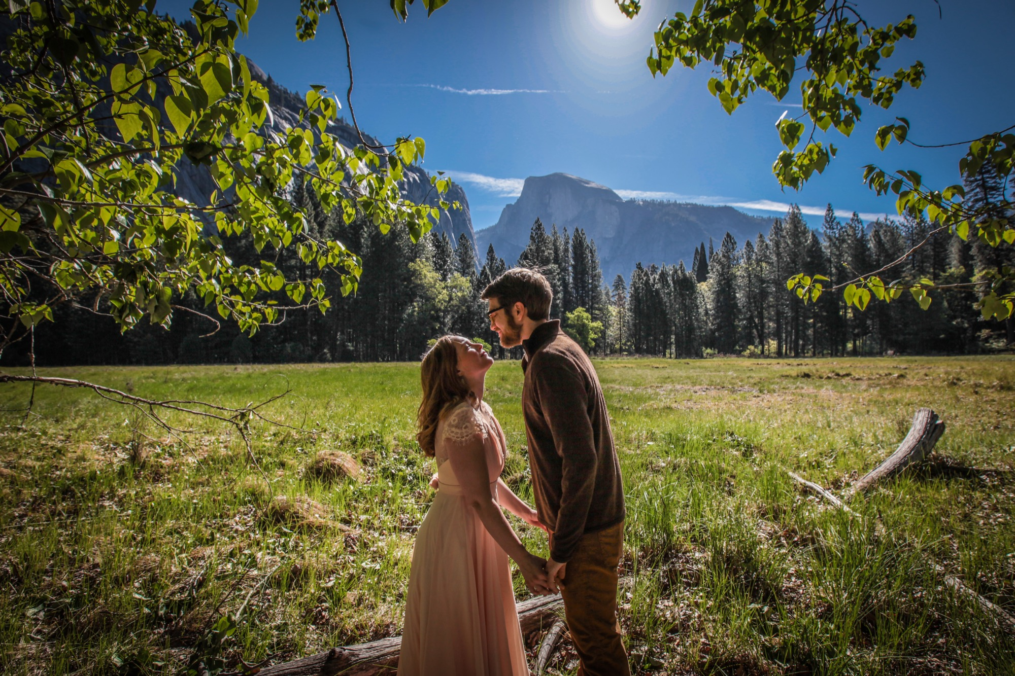 photo of yosemite adventure elopement photography
