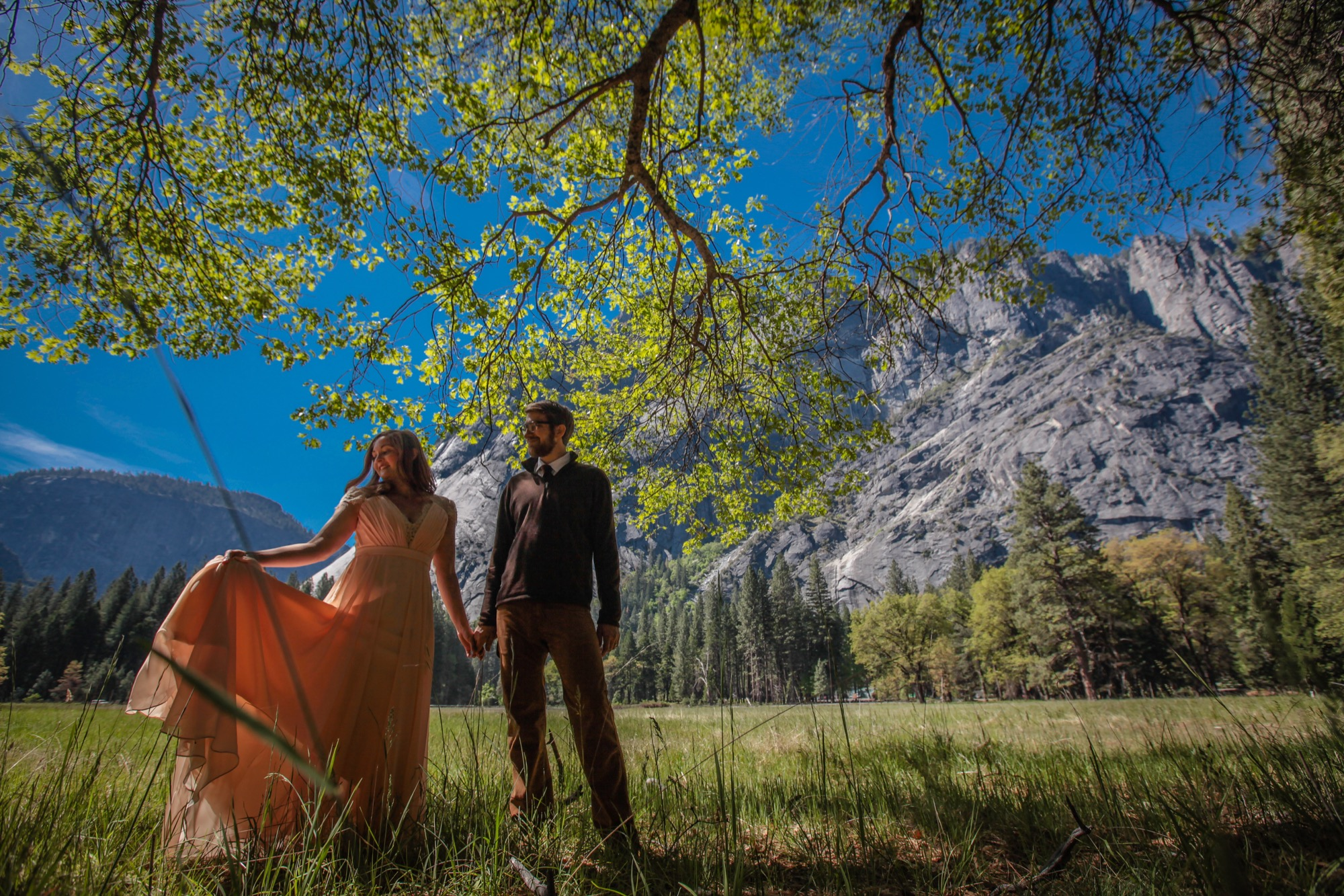 photo of Yosemite wedding photographs