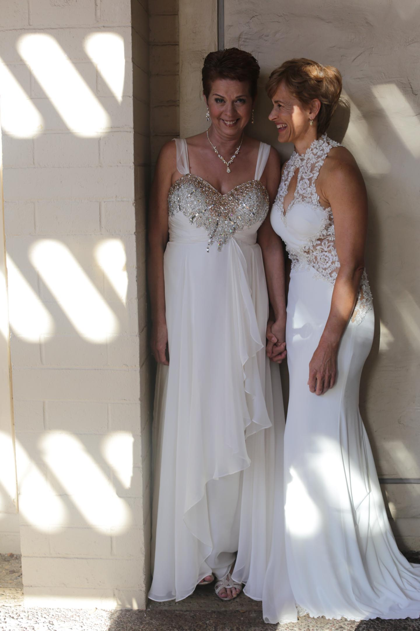 photo of lake tahoe lesbian wedding