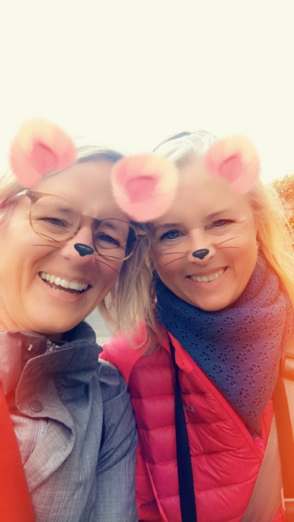Snapchat fun with Katrin in Bonn, Germany.
