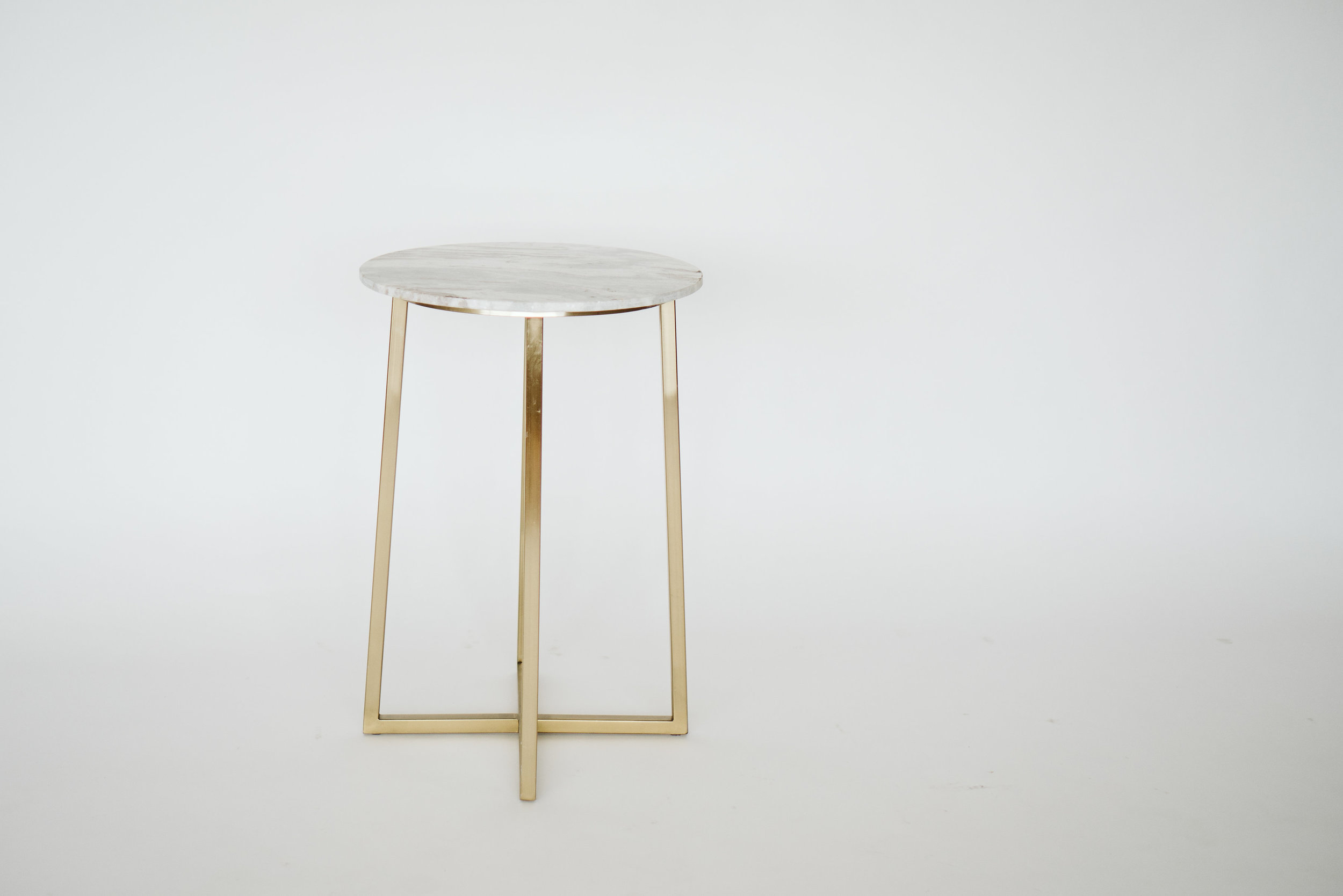 NOVA MARBLE ACCENT TABLE