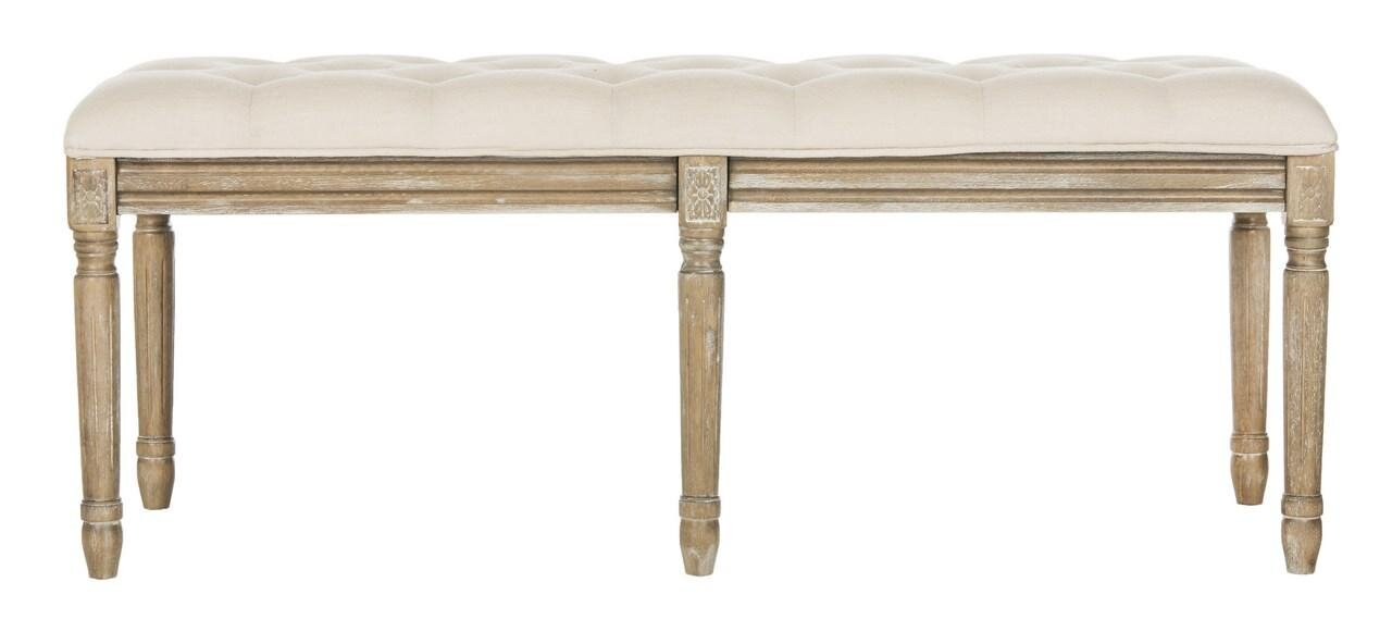 MARGARET TUFTED BENCH