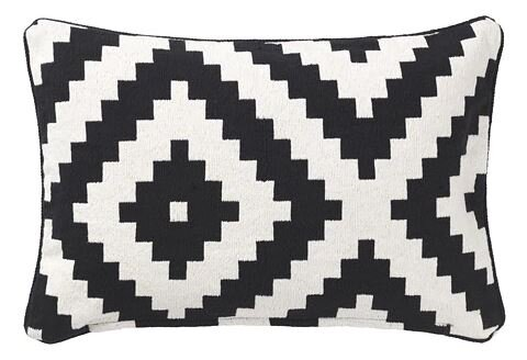 BLACK & WHITE TRIBAL PILLOWS
