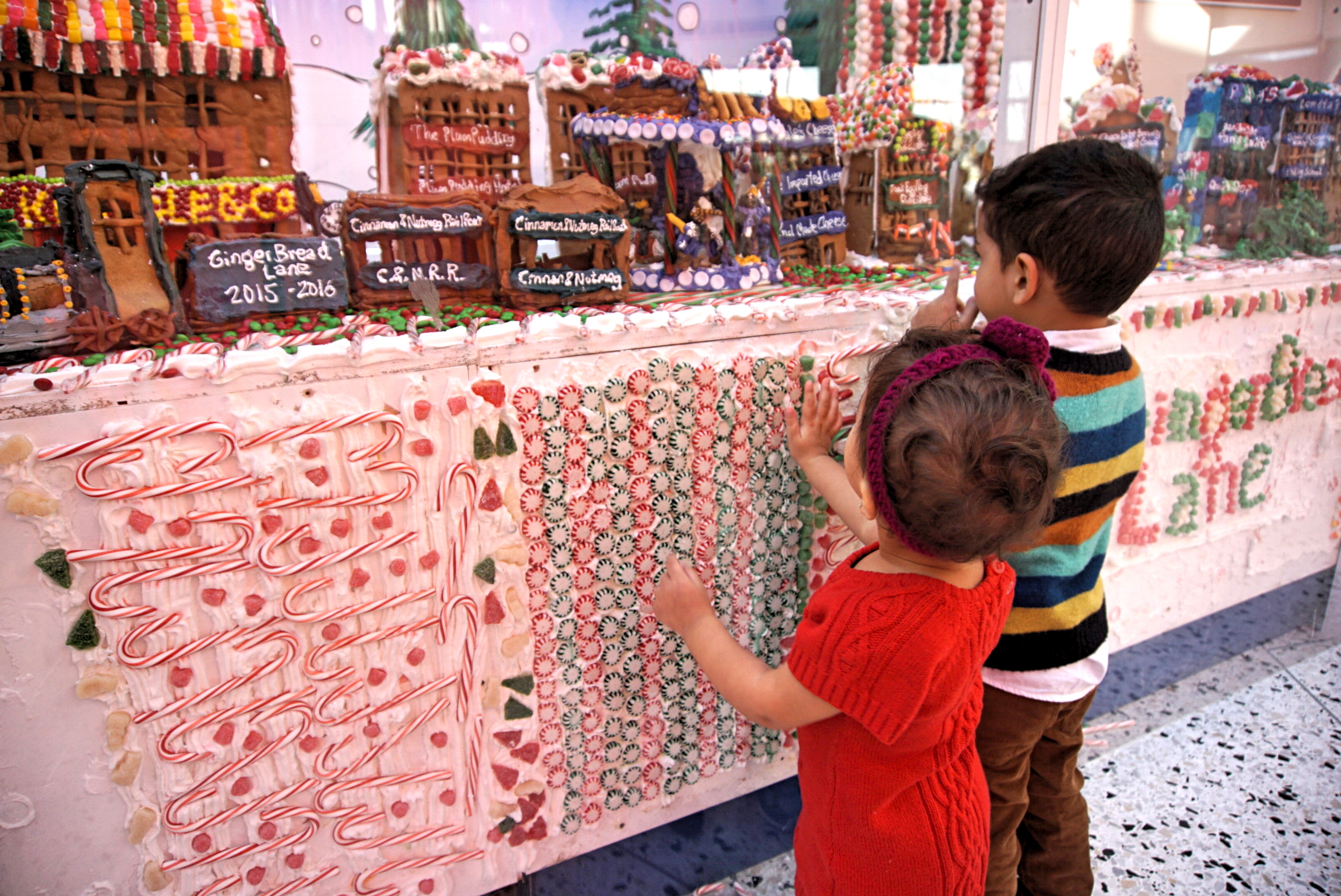 Gingerbread Lane, New York Hall of Science