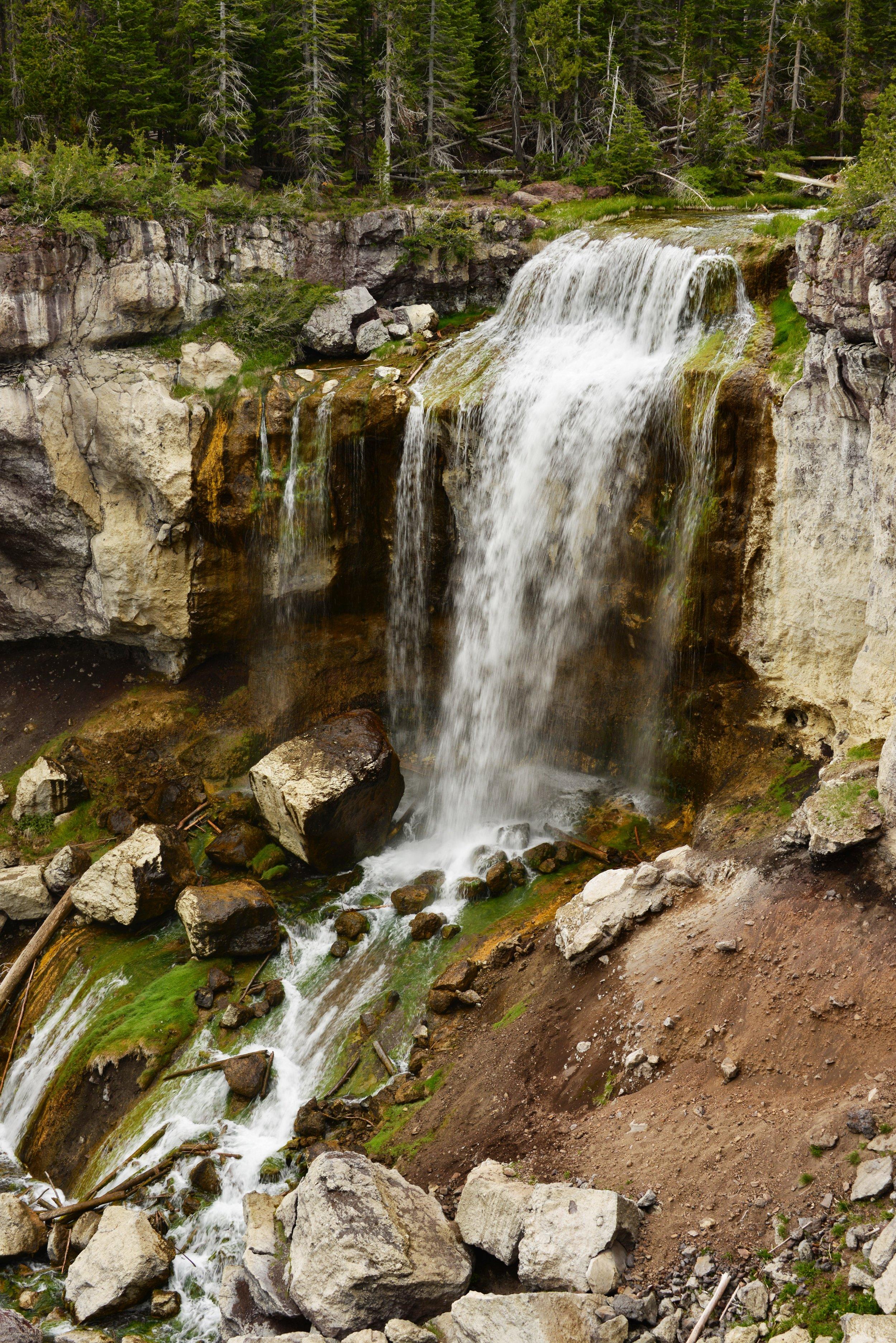 Paulina Falls at the Newberry Caldera