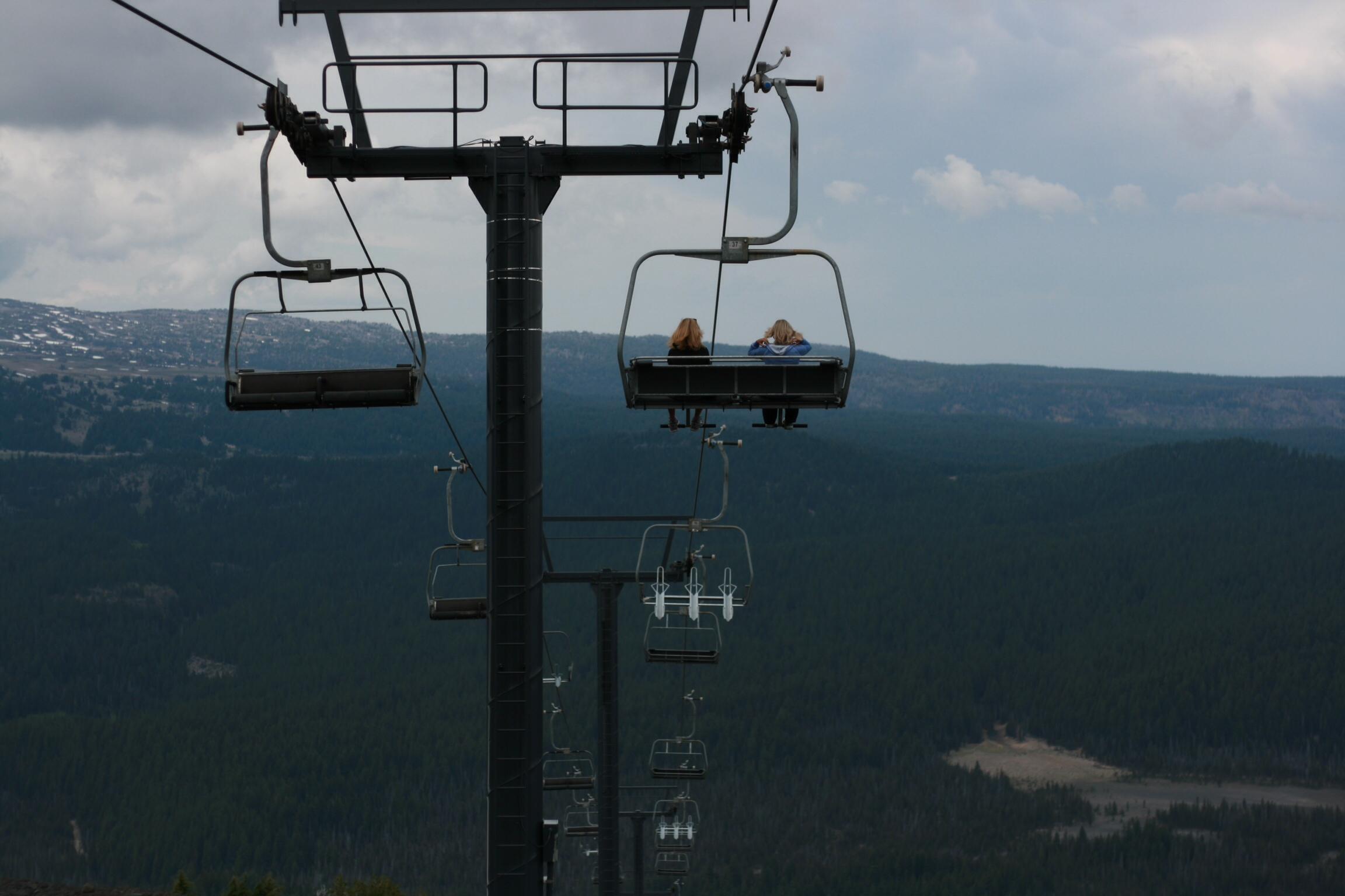 Mt. Bachelor Chair Lift