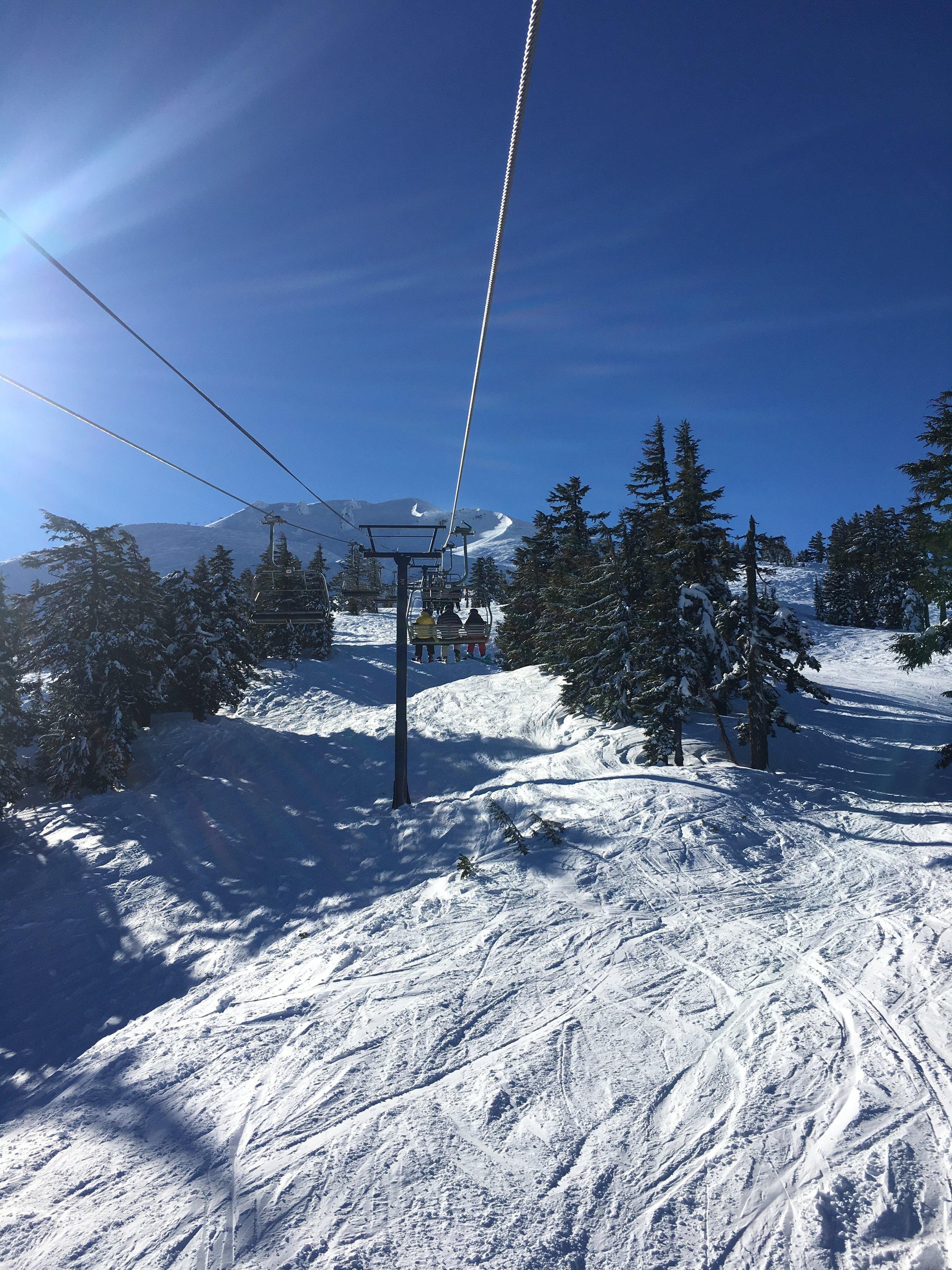 Ski Lift at Mt. Bachelor