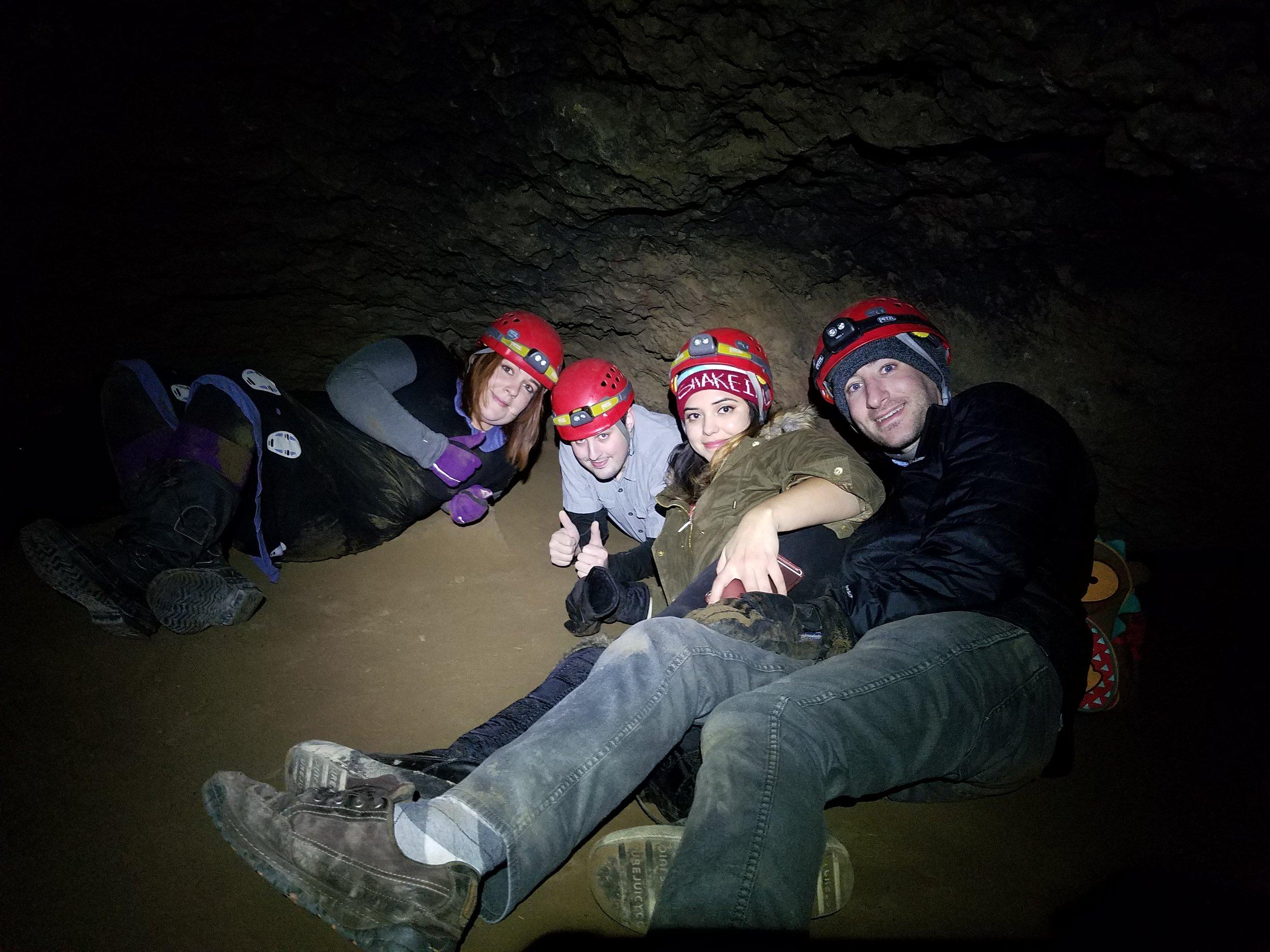 Caving in Bend Oregon