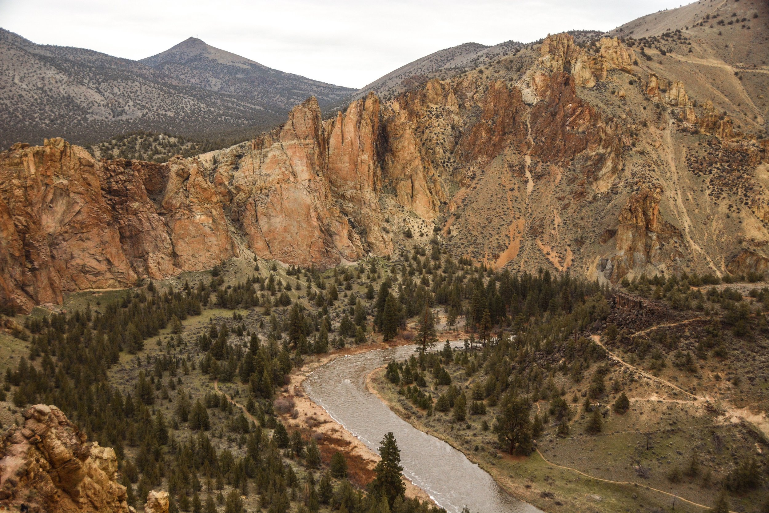 Smith Rock in early Spring