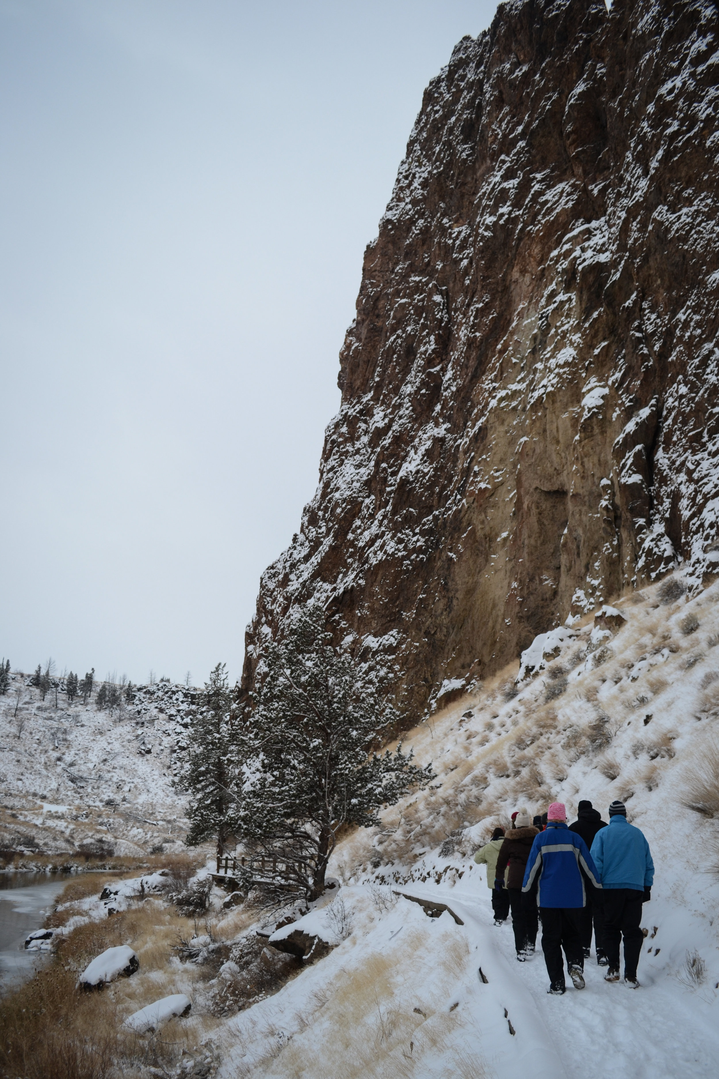 Smith Rock in Winter
