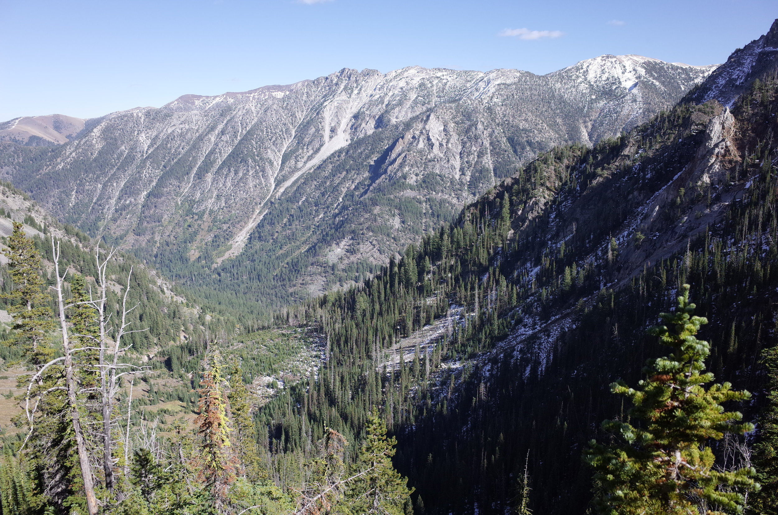West Fork Wallowa River valley