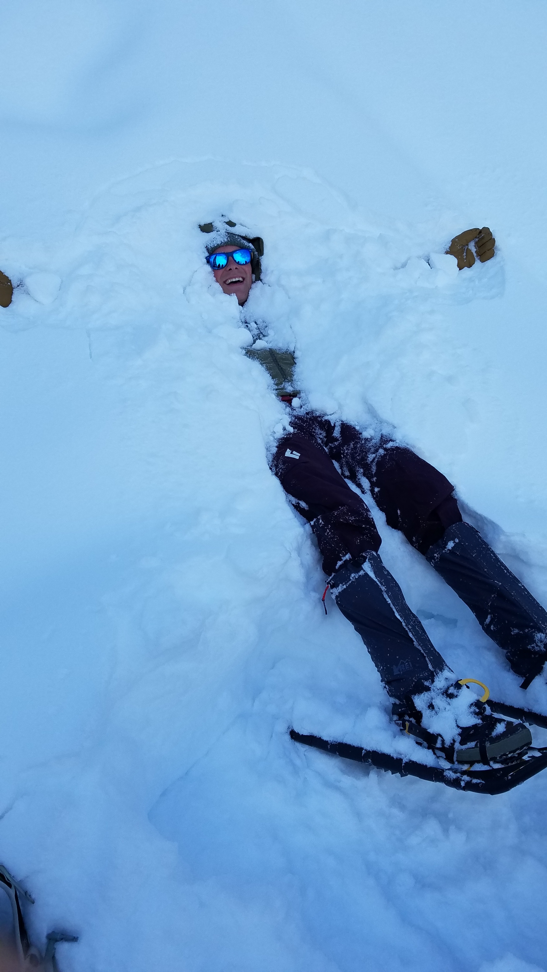 too much snow??