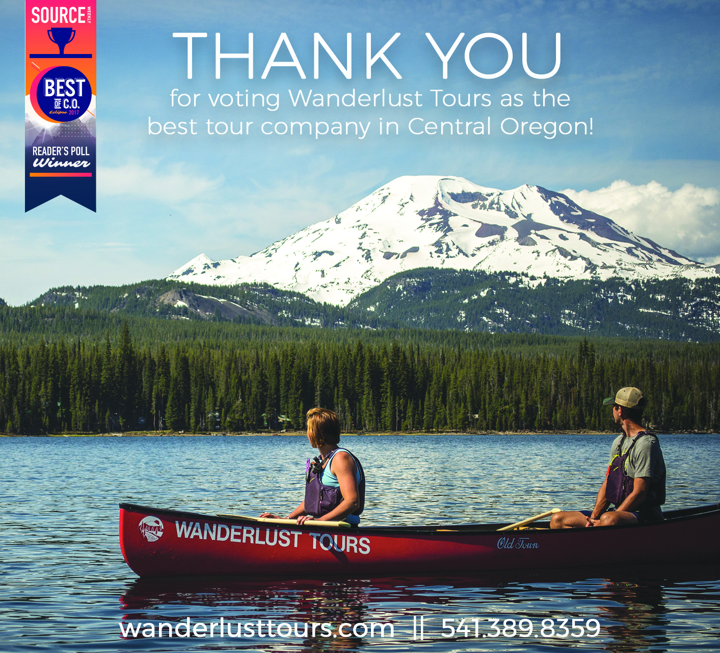Best Tour Company in Bend
