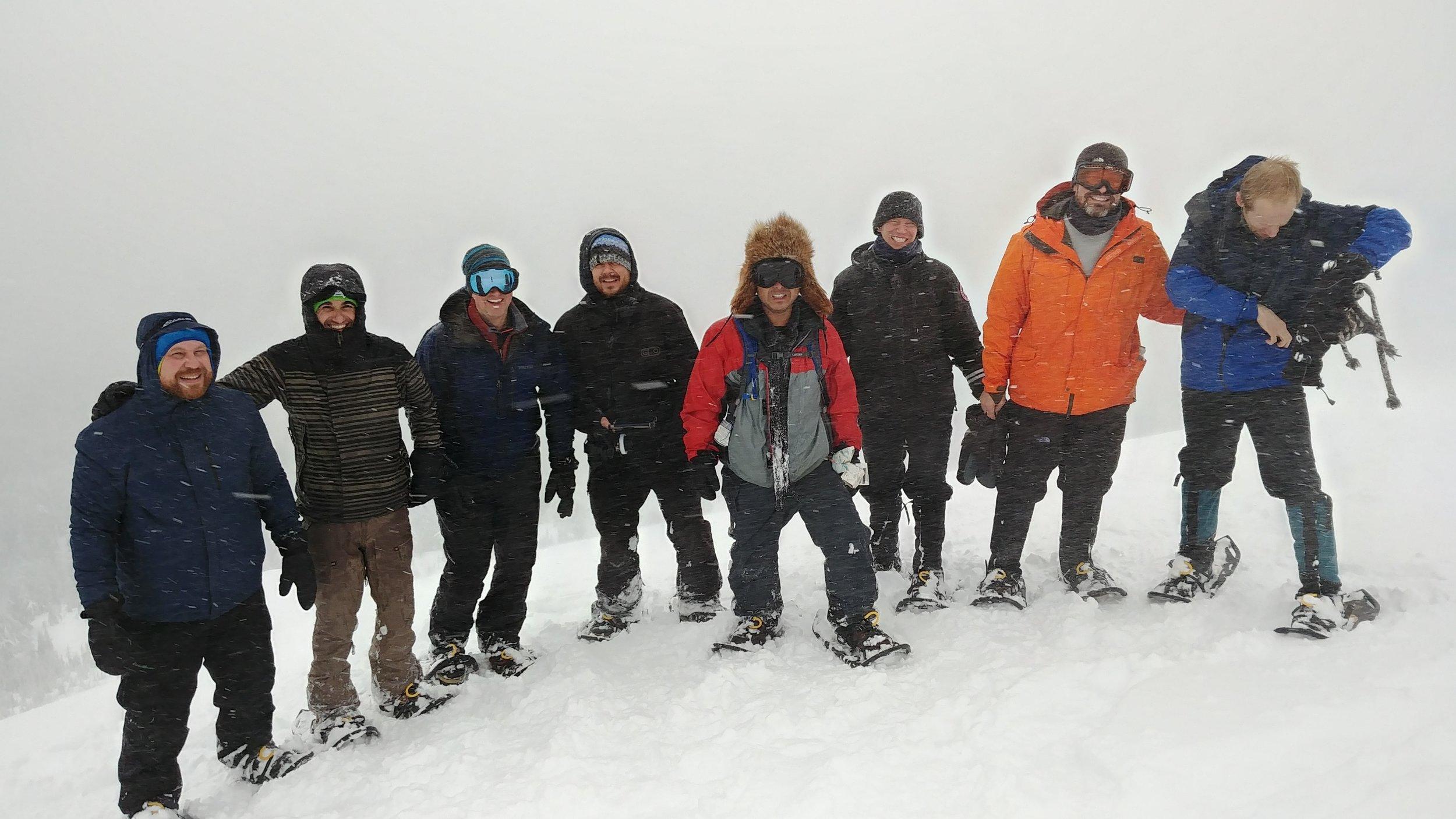 Snowshoe Tumalo Mountain