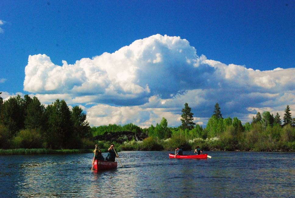 River-Canoe-Trip-Overnight-Deschutes-Bend