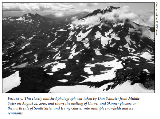 """Images from """"Our Vanishing Glaciers"""" by Jim E. O'Connor"""