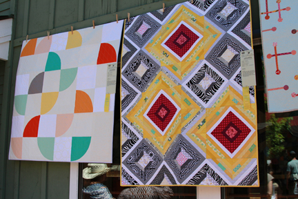 Photos from the  Sisters Outdoor Quilt Show