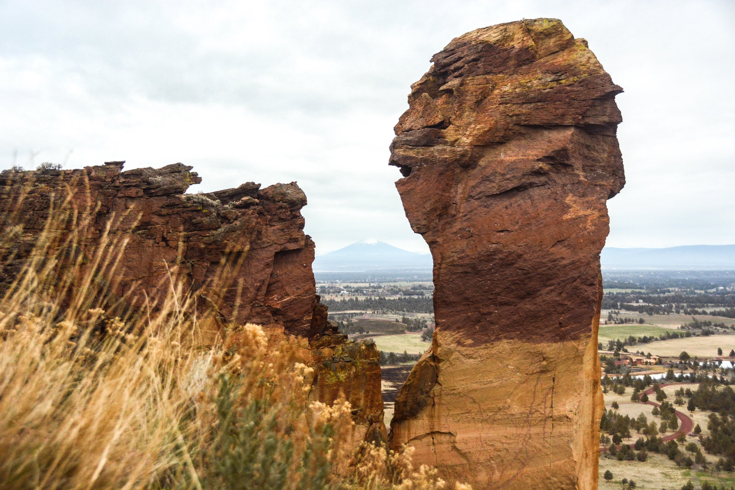 Monkey Face at Smith Rock State Park. Photo by  Chaney Swiney .