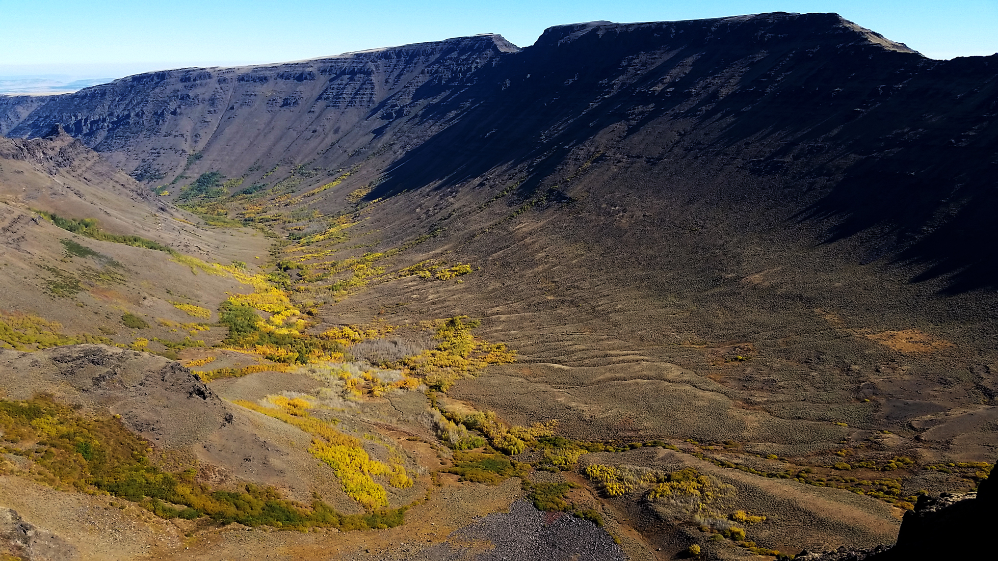 Steens Mountain valley