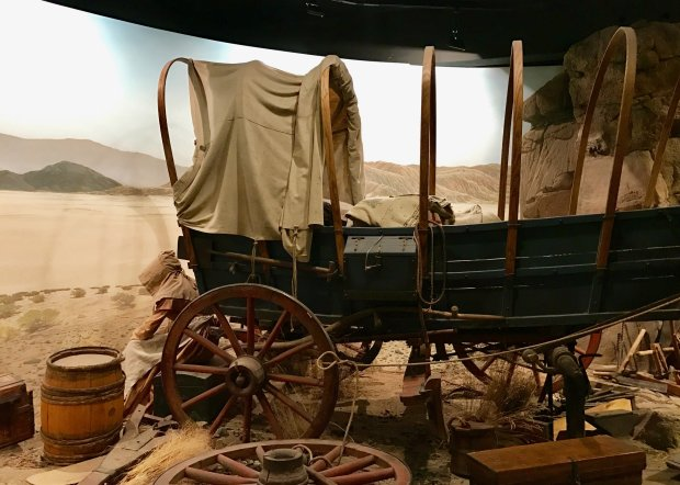 A scene from the High Desert Museum's Spirit of the West exhibit
