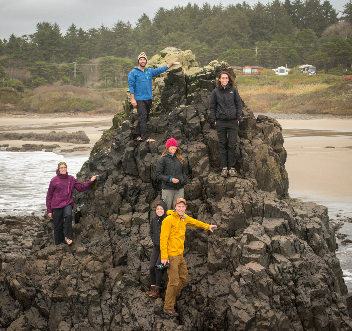The staff near Waldport, OR for the autumn retreat.
