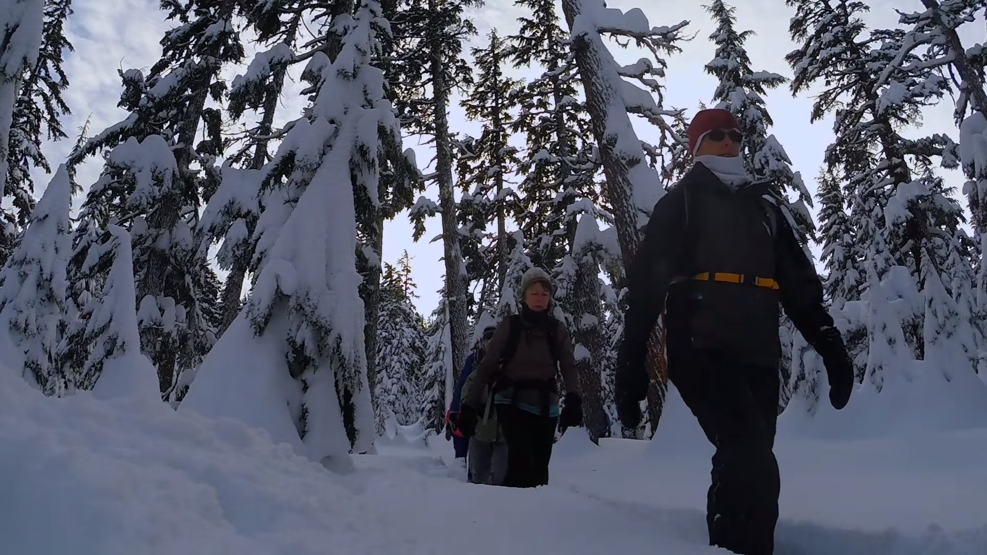 Snowshoeing in the Deschutes National Forest