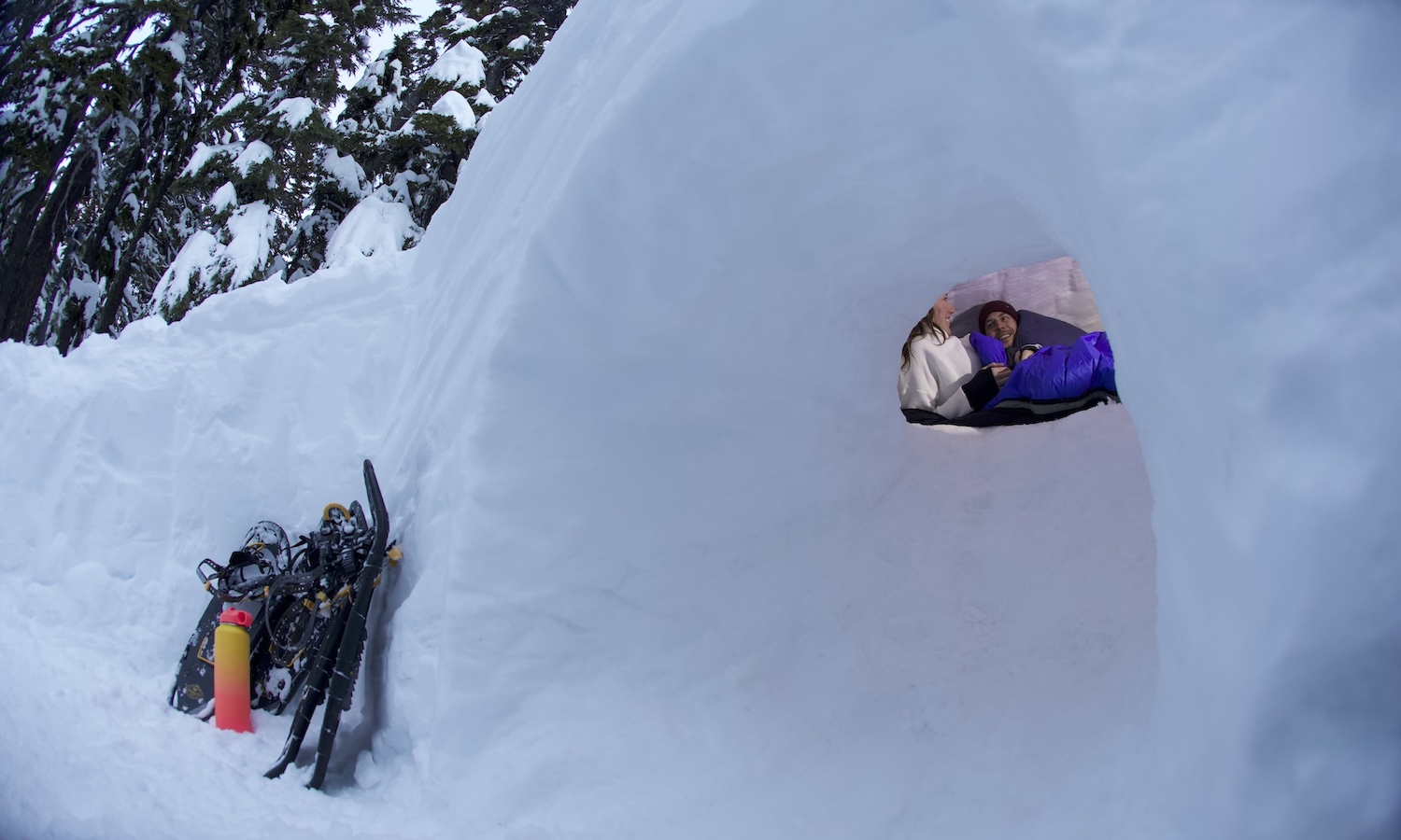 Bend-Snow-camping-Wanderlust-Tours