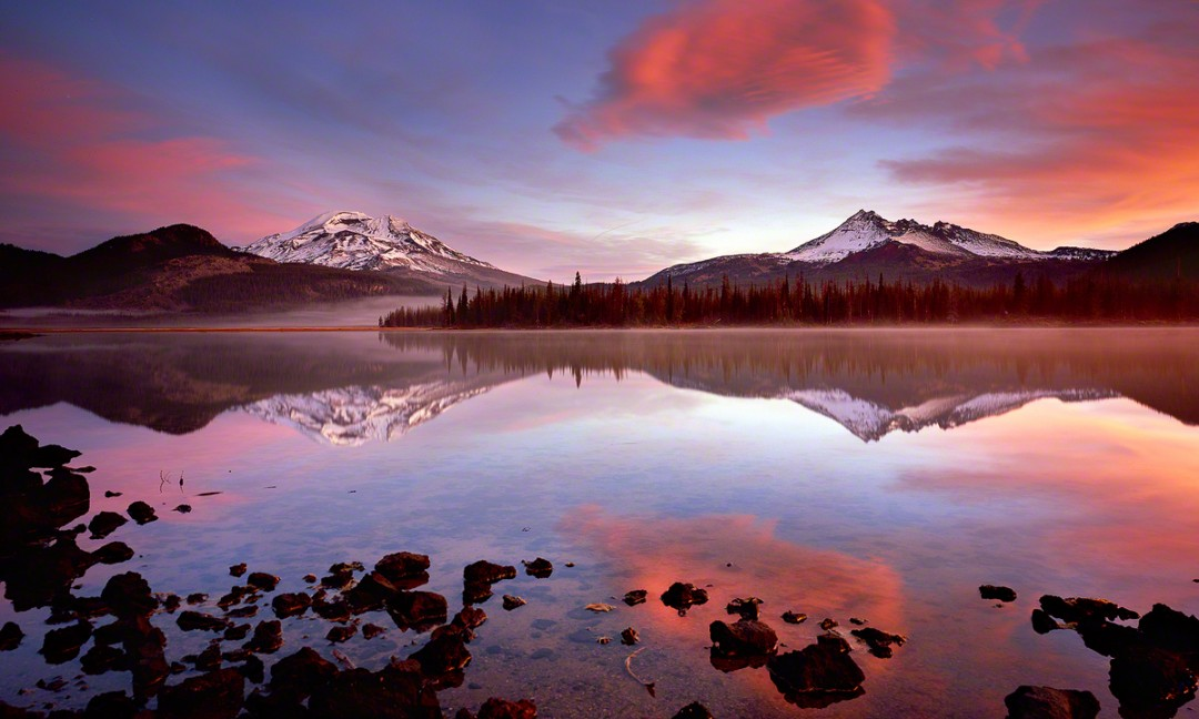 Sparks Lake Photography Tours.