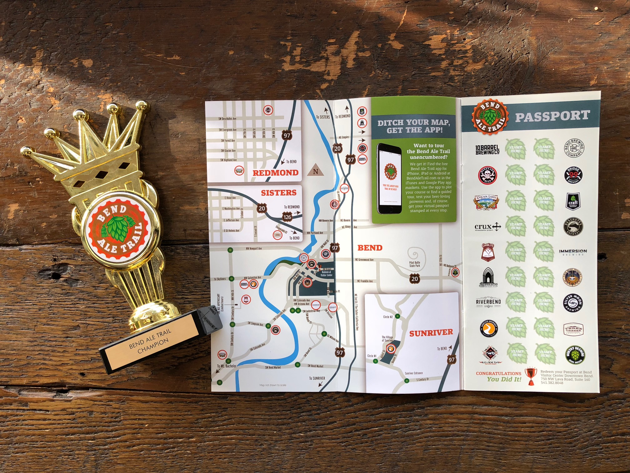 Become a Bend Ale Trail champ!