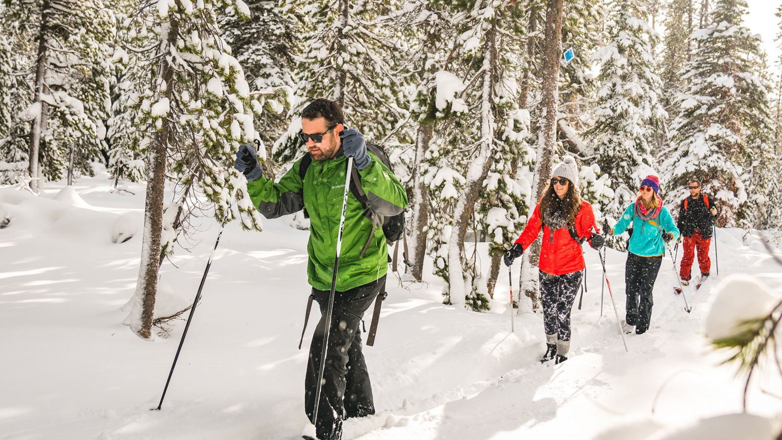 Cross-country skiing in Bend, Oregon
