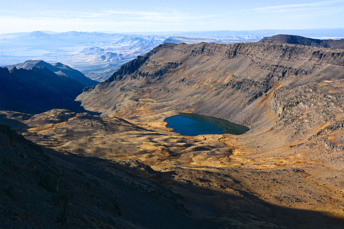 Witness the beauty of Wildhorse Lake on this guided Steens tour.