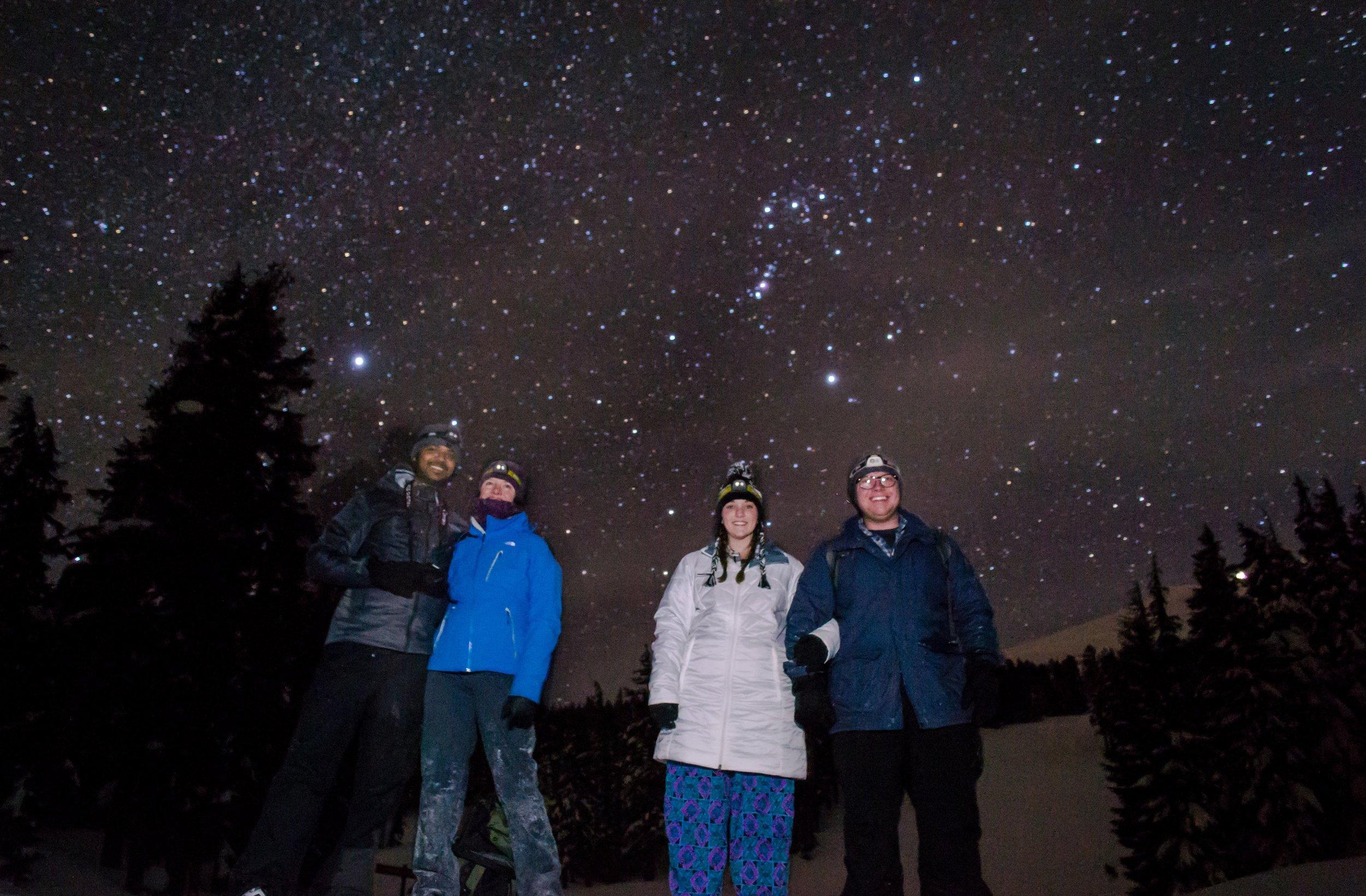 Snowshoe Bonfires - Wanderlust Tours