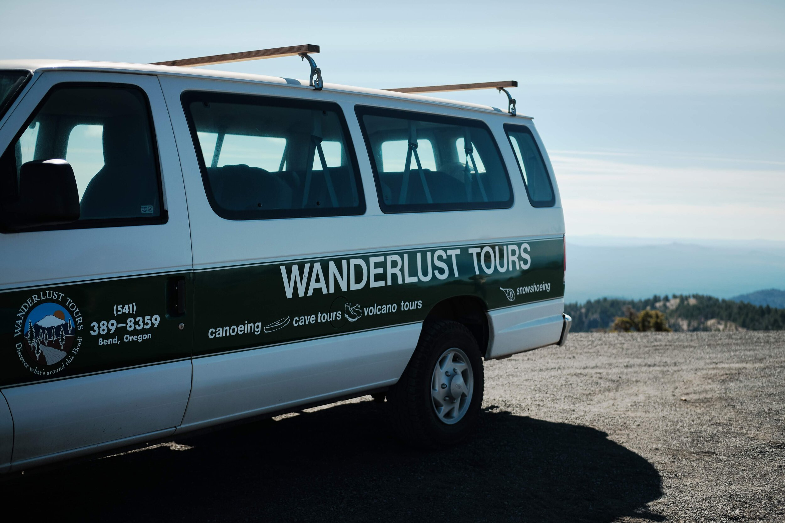 Wanderlust Tours - Bend Oregon - Our Van