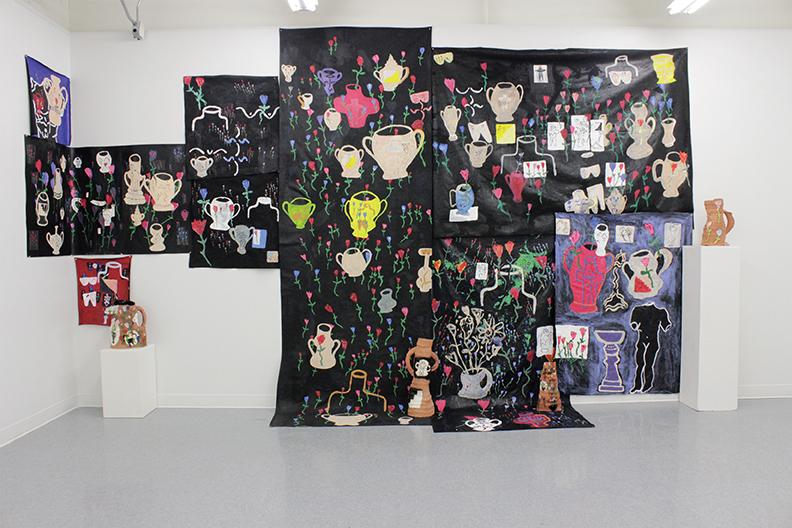 dom rabalais painting installation